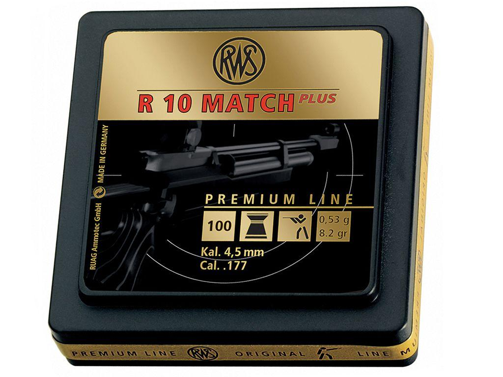RWS R 10 Match Plus .177 Pellets