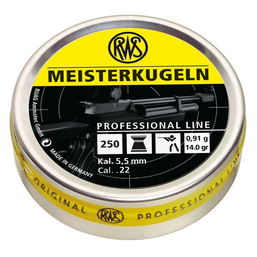 RWS Meisterkugeln .22 Pellets 250-Pack
