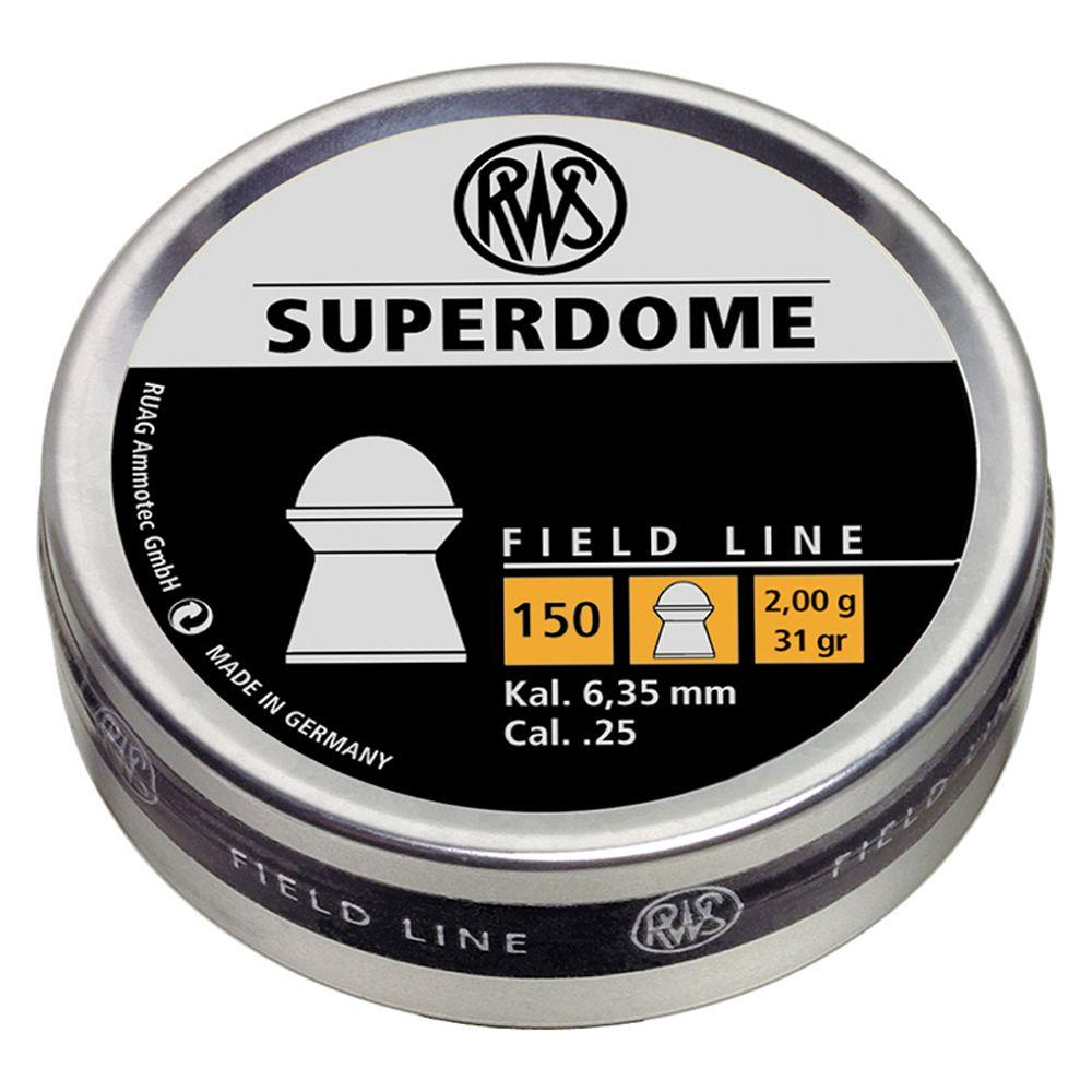 RWS Superdome 2.0 .25 Cal Pellets 150-Pack