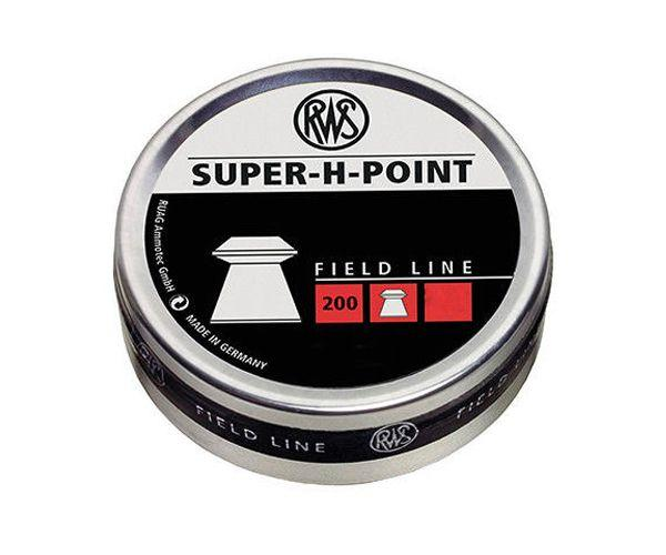 RWS Super-H-Point Field Line 200 Air Gun Pellets