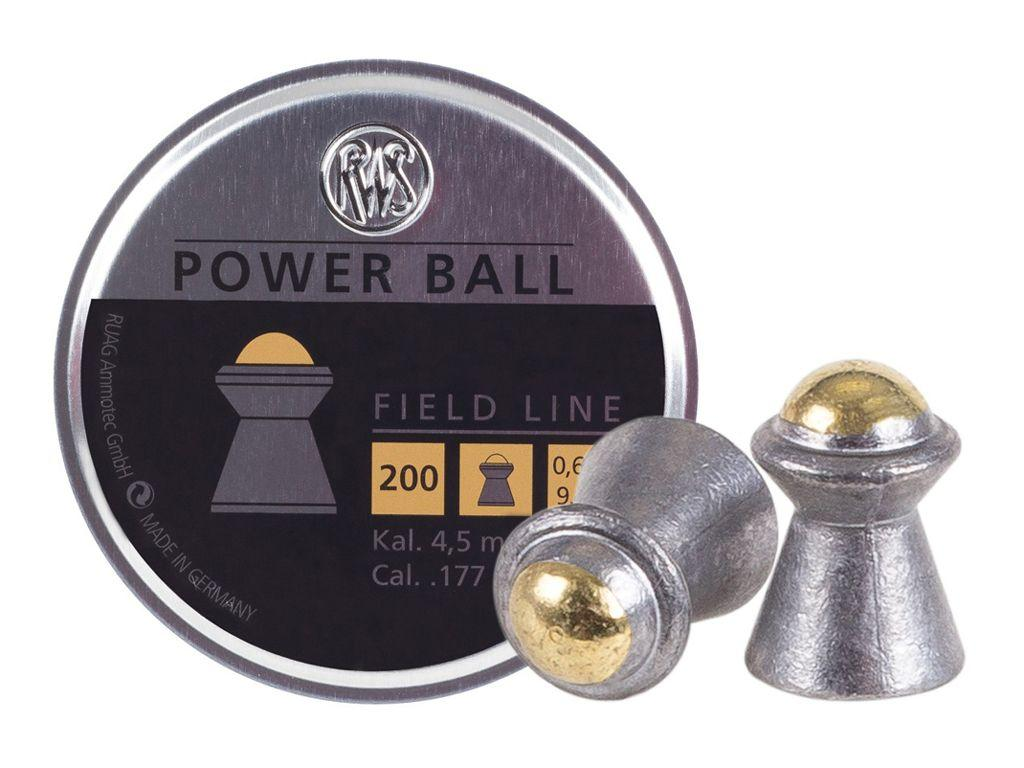 RWS Power Ball .177 9.4gr Pellets 200ct