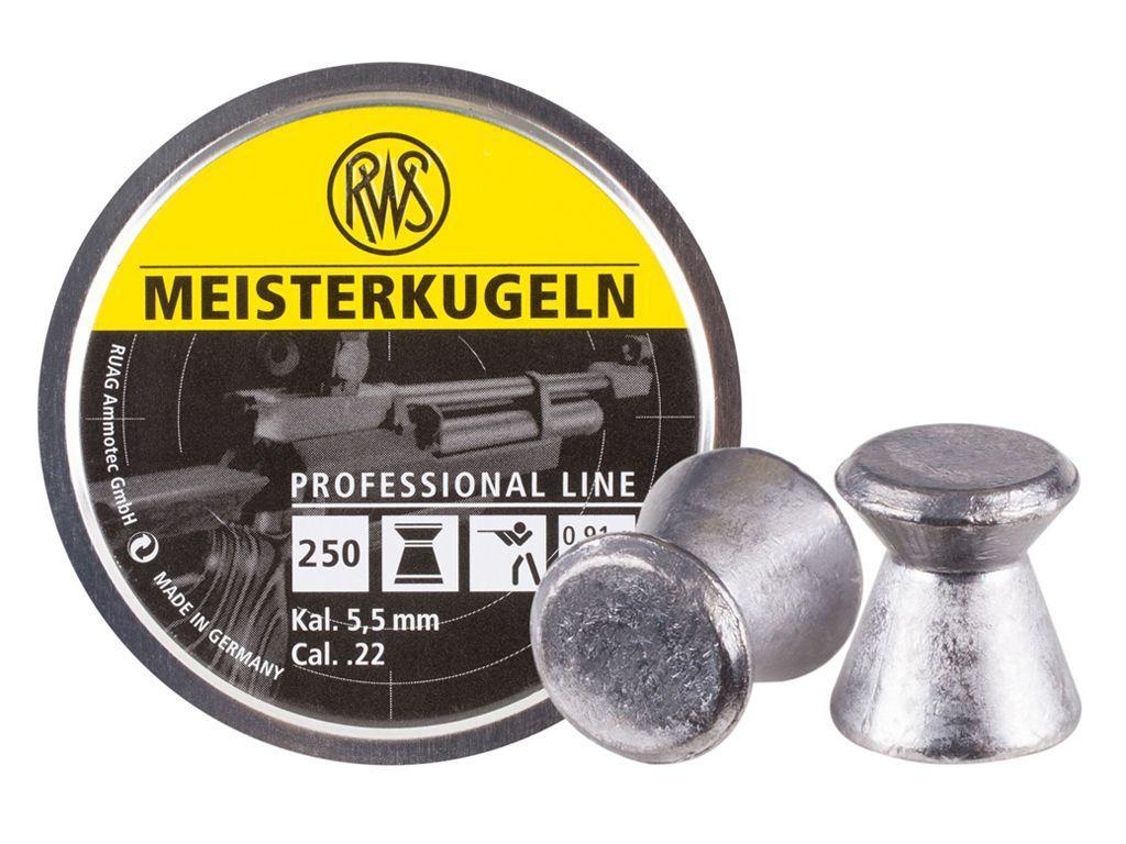 RWS Meisterkugeln .22 14gr Wadcutter Pellets 250ct