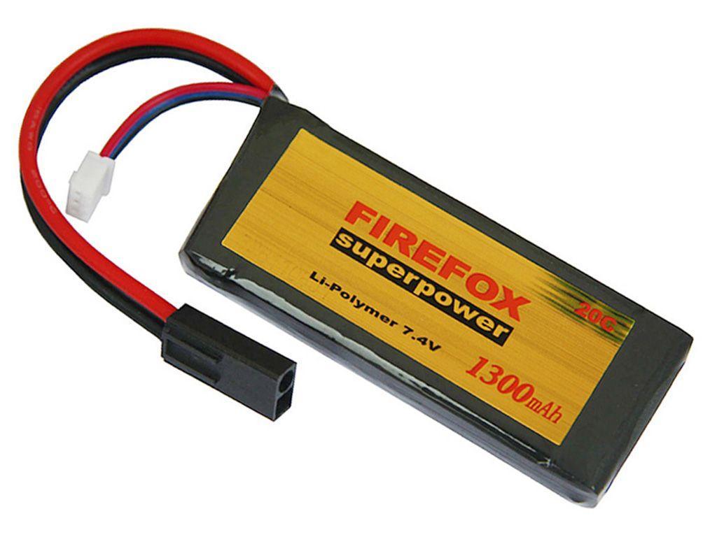 Firefox 7.4V 1300mAh 20C LiPo AEG Mini Battery