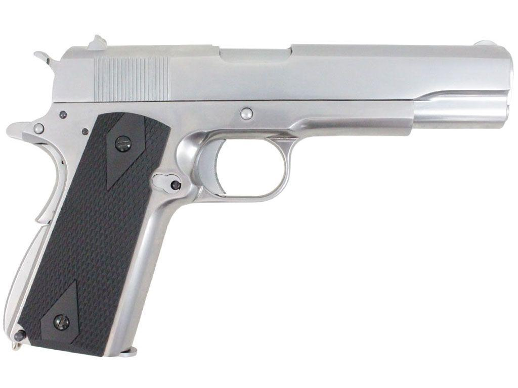 WE 1911 Green Gas Blowback Airsoft Pistol
