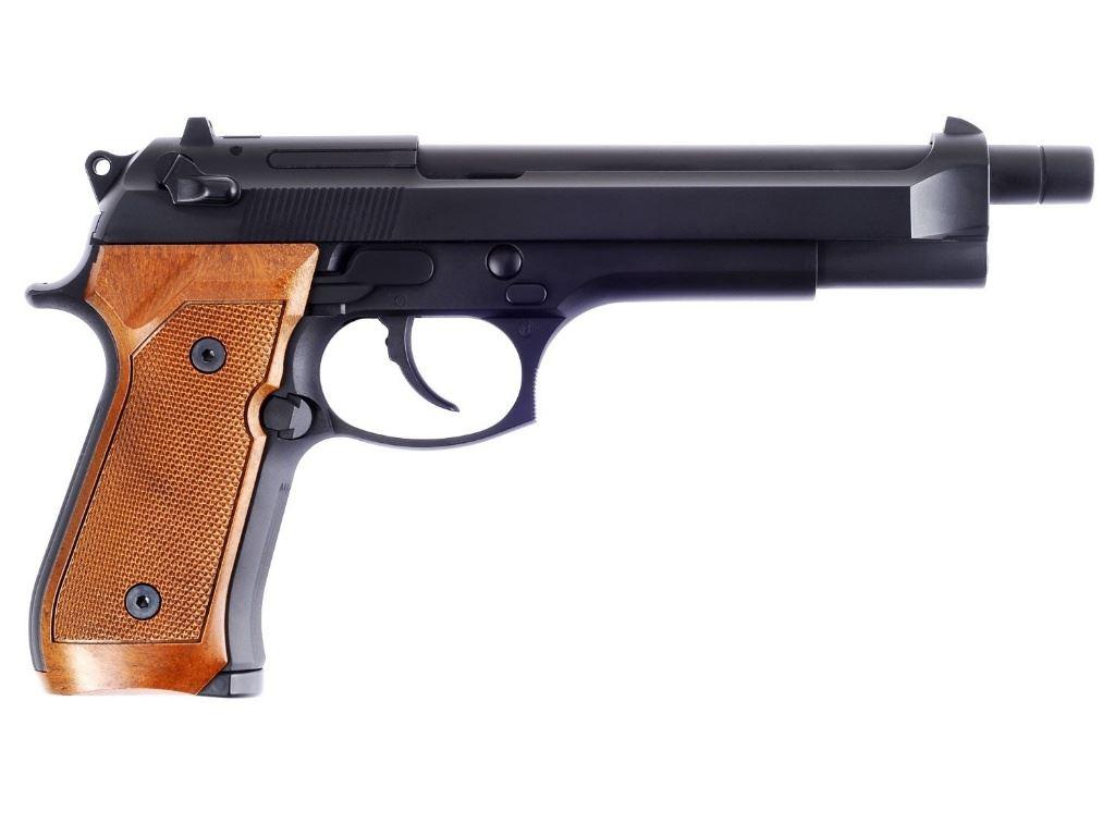 M92 Long Gas Airsoft Pistol