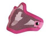 Airsoft Pink Half Face Mask