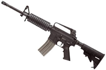 G&G TR16 A2 Carbine Blowback AEG Airsoft Rifle
