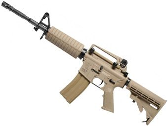 G&G Combat Machine R16 Carbine AEG Desert Tan Rifle