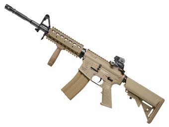 G&G Top Tech TR16 R4 Commando Desert Tan Airsoft Rifle