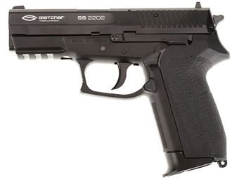 Gletcher 4.5 Mm SS 2202 Powerful Steel BB Air Pistol