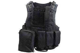Water-Resistant Combat MOLLE Vest