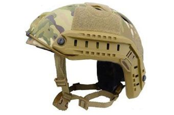 Airsoft Military Jump Fast Base Bj CP Helmet - Multicam