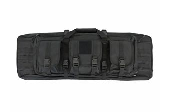 Black 36 Inch Double Carbine Backpack Rifle Gun Case