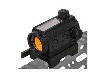 Mini Solar Power Red Dot Sight