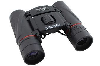 Folding 8x21 Black Binoculars
