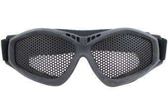 Breathable Metal Mesh Shooting Goggles