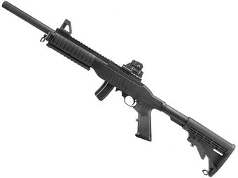 KJ Works 10/22 Gas Blowback Carbine Action Airsoft Rifle