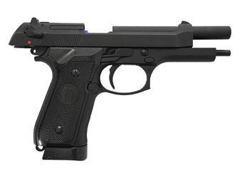 KJ Works M9 Vertec Airsoft Pistol CO2 Blowback