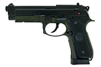 KJ Works M9A1 Full Metal CO2 Blowback Olive Drab Airsoft Pistol