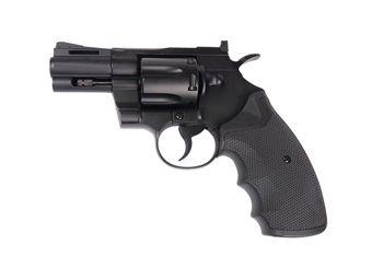KWC Black 2.5 Inch Barrel Airsoft Revolver