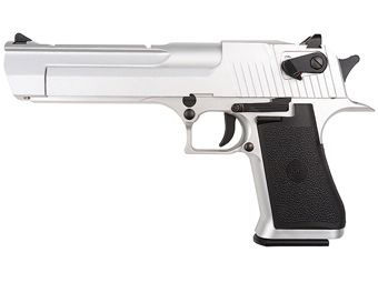 KWC .50 Desert Eagle Style Blowback Version Silver Airsoft Pistol