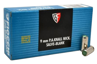 Fiocchi 9mm PA Box of 50 Blank Ammo