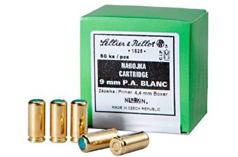 Sellier & Bellot 9mm PA Blanks