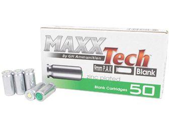 MAXXTech PAK Blanks 9mm - 50ct.