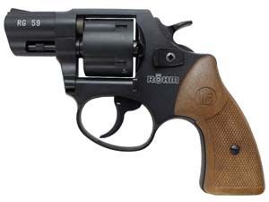 RG-59 Five Shot .380 Blank Revolver (Black)