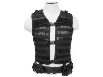 Ncstar Black Molle Large Pals Vest