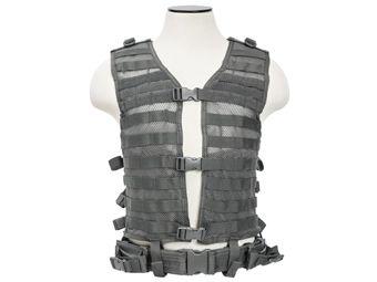 Ncstar VISM Urban Gray MolleTactical Mesh Vest