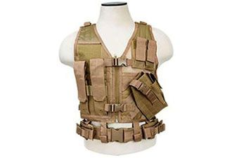 Ncstar Tan Tactical Childrens Vest
