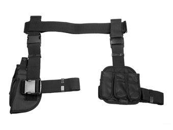 Ncstar VISM 3pc Drop Leg Gun Holster/Magazine Holder