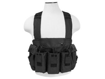 Ncstar Black AK Chest Rig