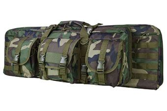 Ncstar 36-Inch Woodland Camo Double Carbine Case