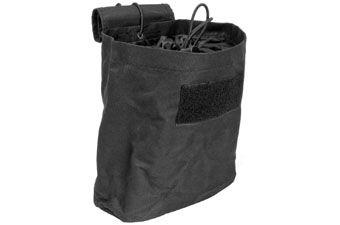 Ncstar Black Folding Dump Pouch