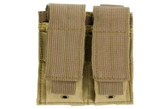 Ncstar Double Pistol Tan Mag Pouch