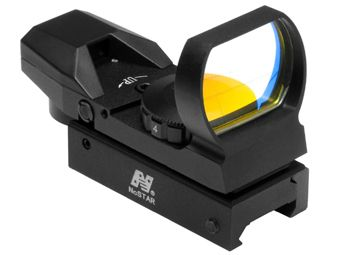 Ncstar 4 Different Reticles Red Dot Black Reflex Sight