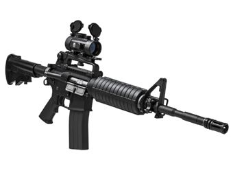 NcStar Weaver Mount Integrated 1X30 Red Dot Scope
