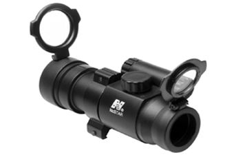 Ncstar 1X30 Red Dot Scope Pop Lens Cap Sight Weaver Ring