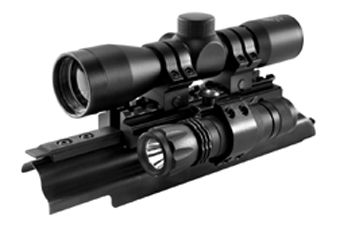 Ncstar Sights N Lights AK-47 Riflescope Combo