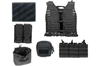Ncstar Zombie Rezurrection Black Kit