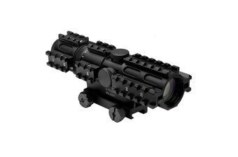 Ncstar Tri-Rail Series 2-7X32 Mil Dot Compact Rifle Scope
