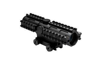 Ncstar Tri-Rail Series 4X32 Mil Dot Compact Rifle Scope