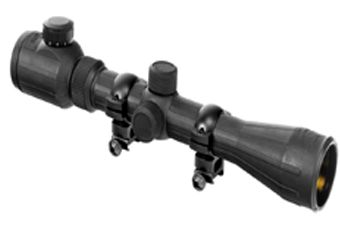 Ncstar Rubber Armored 3-9X40 Green Ill. Rifle Scope