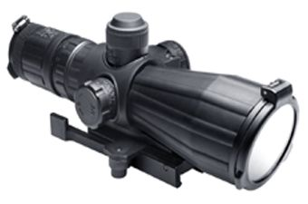 Ncstar SRT Series 3-9X42 Rubber Compact With Red Laser Rifle Scope