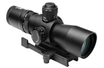 Ncstar Mark III Tactical Series Quick Release Green Lens Rifle Scope
