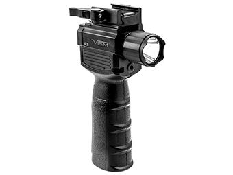 Ncstar Vism QR Vertical Grip/Built In Led Flashlight And Red Laser