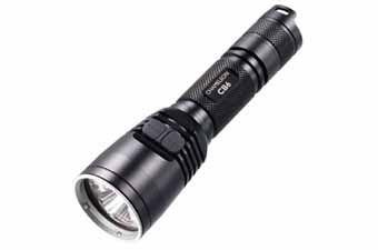 Nitecore 18650 LED Black Primary Blue Flashlight