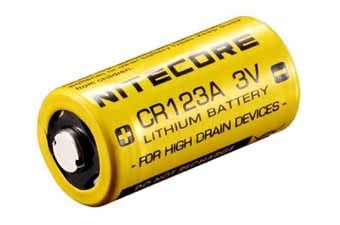 Nitecore CR123A Battery